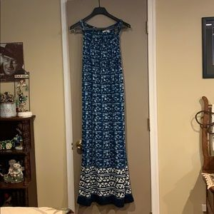 Soft blue maxi dress 👗